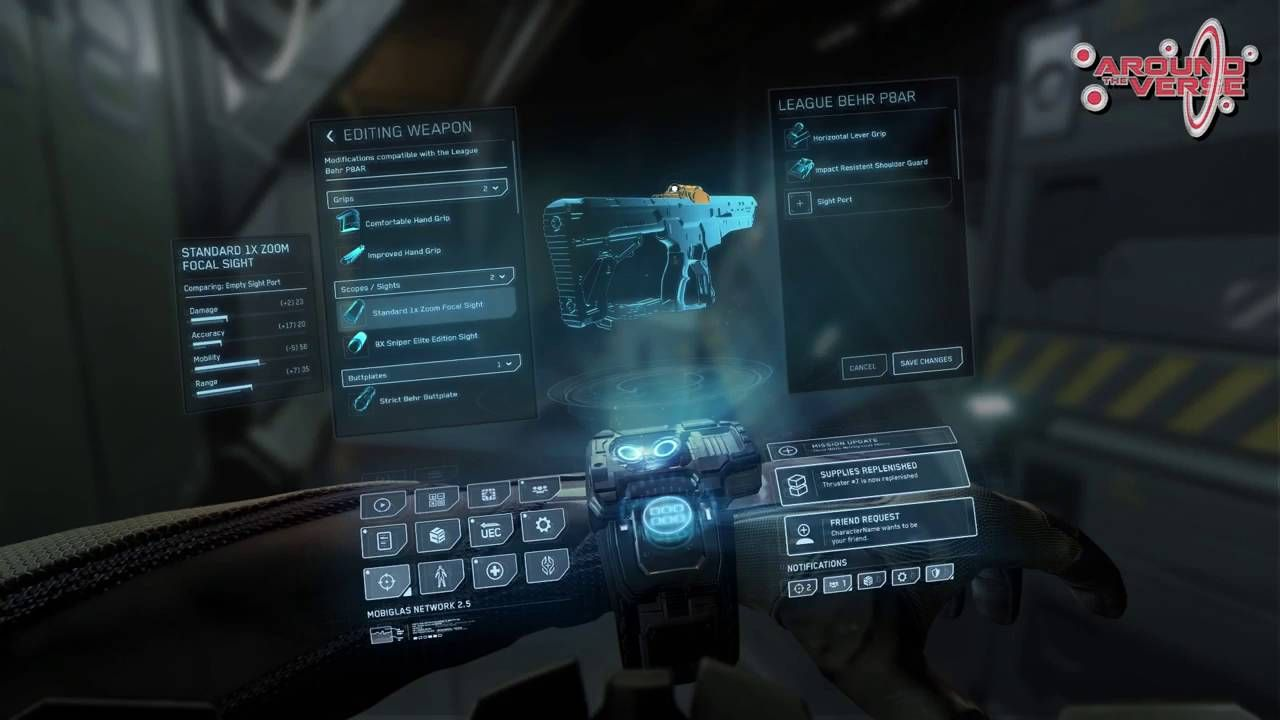 Pin by Jerry Han on 全息UI Star citizen, Game interface