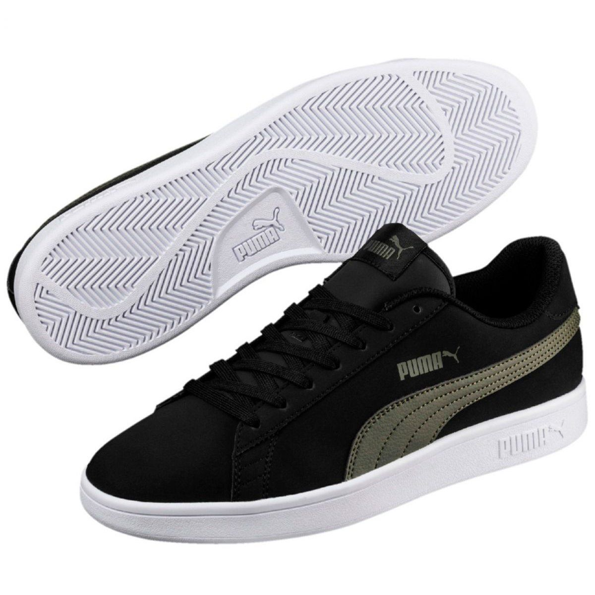 Sportowe Meskie Innamarka Buty Puma Smash V2 Buck M 365160 05 Czarne Leather Slip On Shoes Puma Running Shoes Junior Sneakers