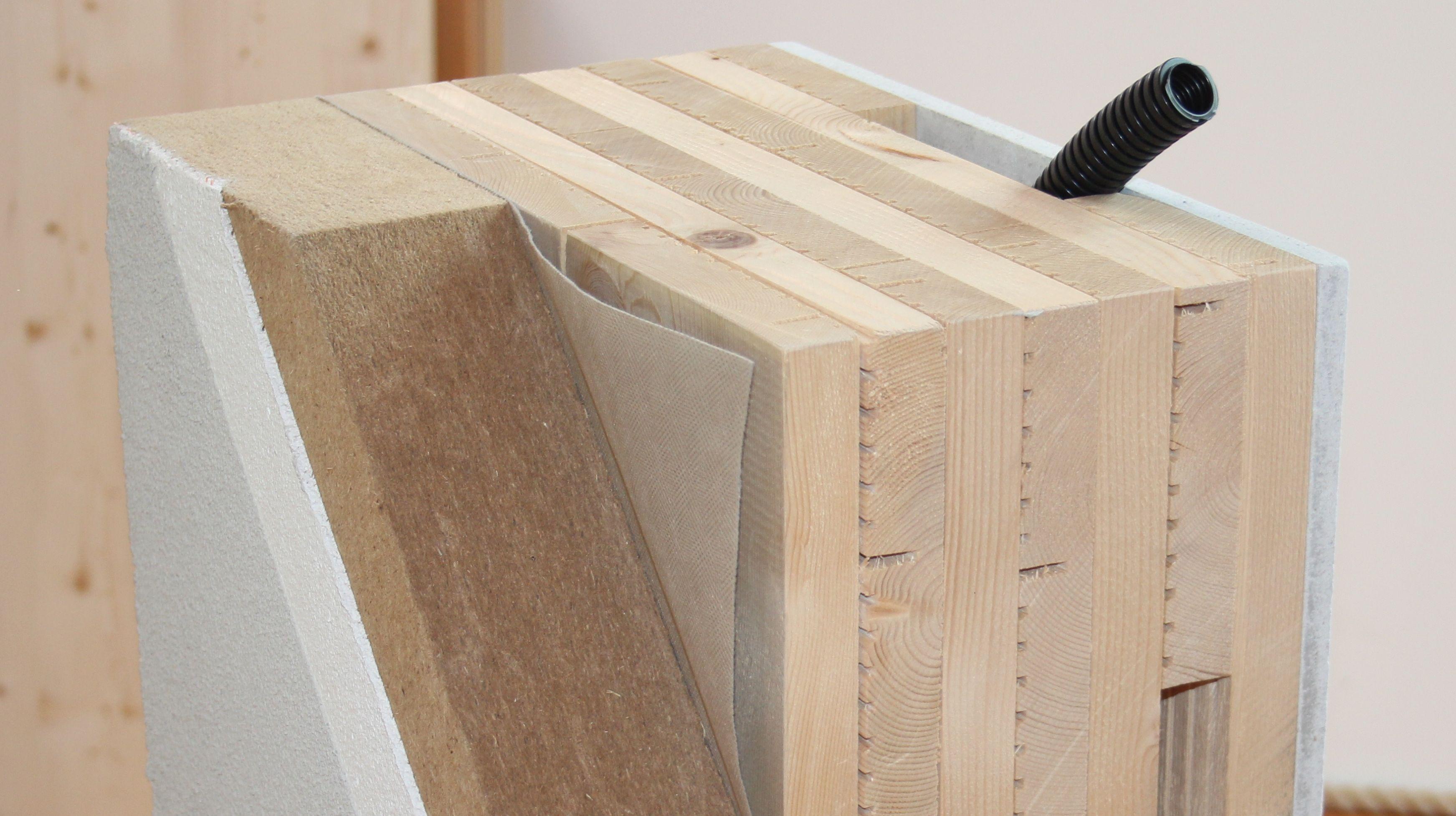 Attractive Unser Bestes Stück: BIO XLam, Die Massive Leimfreie Holzwand Unsere  Biologische Holzwand Entspricht