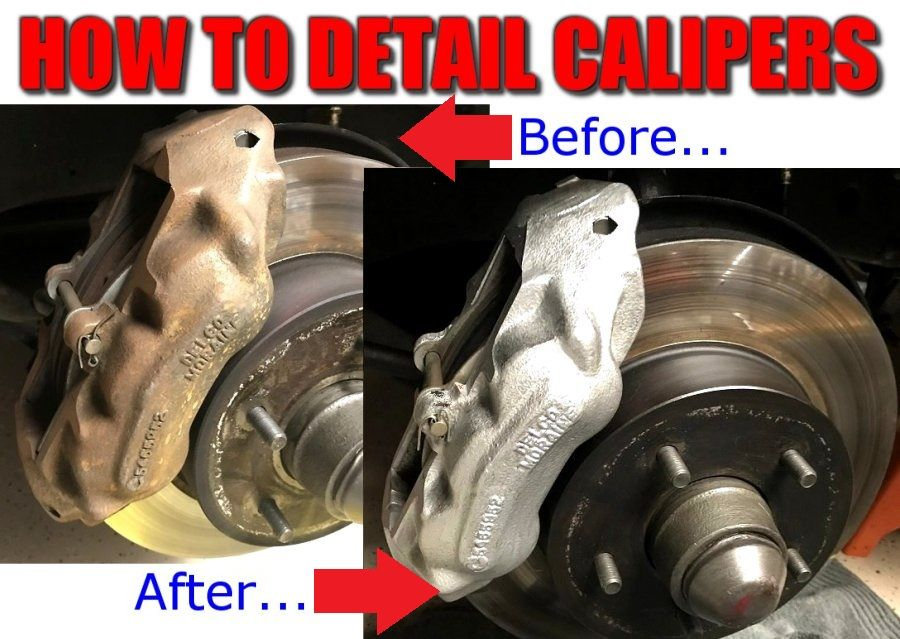 Complete Details On How To Clean And Paint C3 Corvette Calipers Plus How To Tips To Detail Rotor Hubs And Eliminate Surface R Calipers Brake Calipers Cleaning