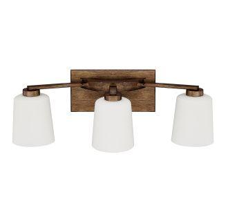 Photo of Capital Lighting 112031RT-323 Rustic Reid 3-Light Bathroom Basin Light