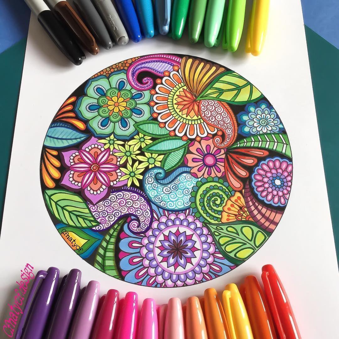 40 Beautiful Mandala Drawing Ideas How To 3