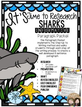 paragraph about sharks