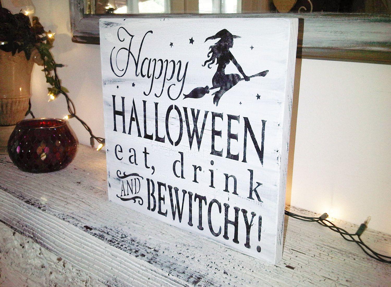 Typography Word Art Halloween decoration, \ - black and white halloween decorations
