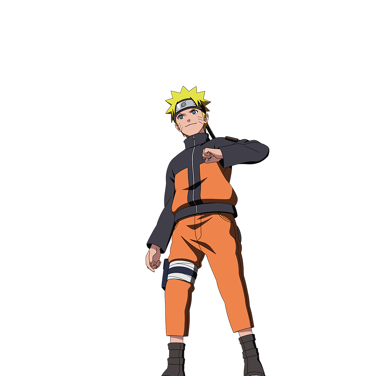 I Will Not Die Until I Become Hokage I Never Go Back With My