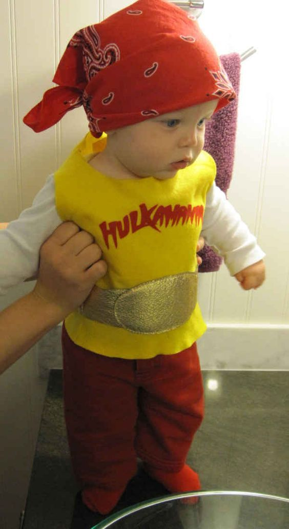 DIY Hulk Hogan Halloween Costume Idea 3 DIY Halloween Costume - halloween costume ideas easy