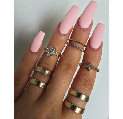 Nails and rings <3