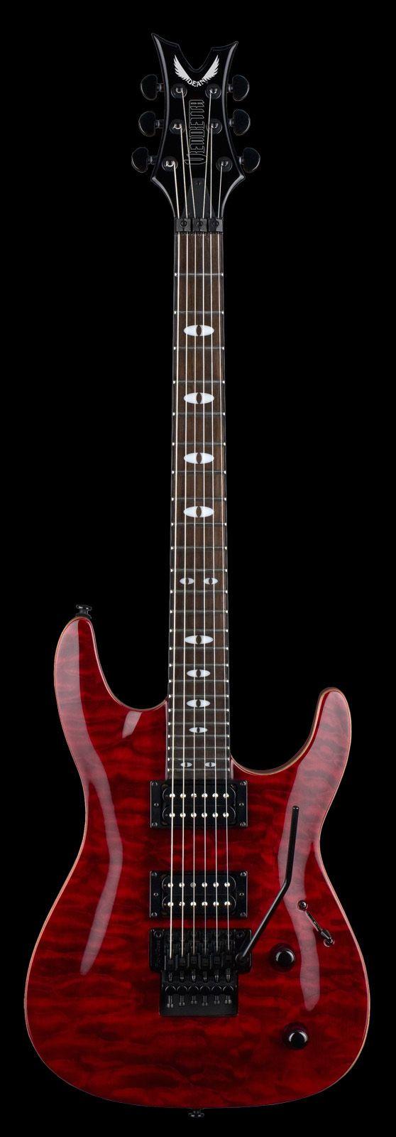Dean Electric Guitar Vendetta 4f Scary Cherry