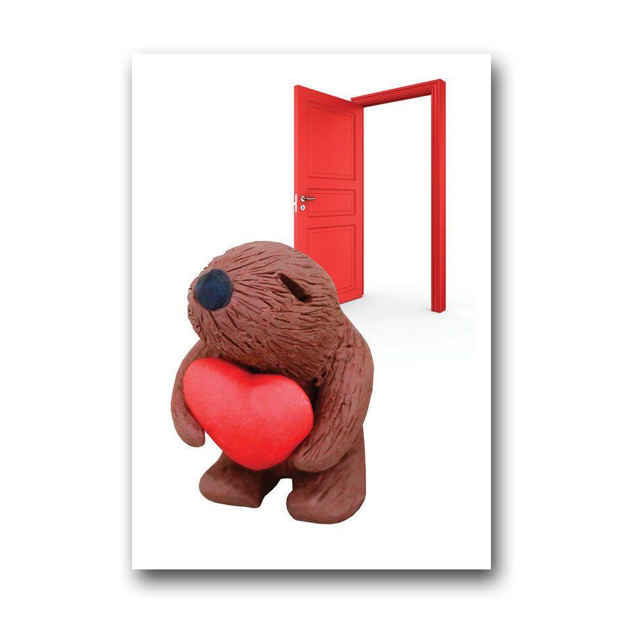 Squidgeme bear door card