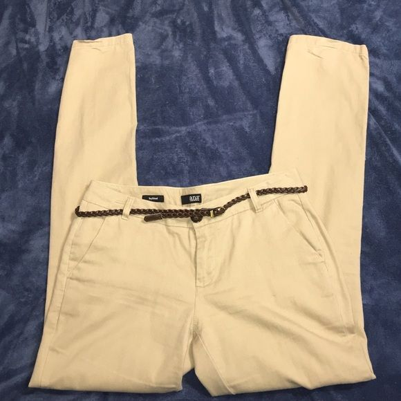 Boyfriend pants Size 6 pants great for work!  Has normal signs of wear a.n.a Pants Straight Leg