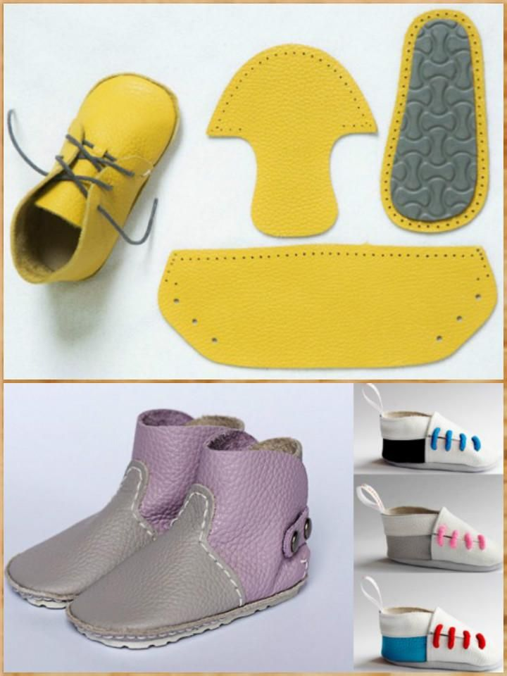 3813e10622a76 55+ DIY Baby Shoes with Free Patterns and Tutorials | patterns ...