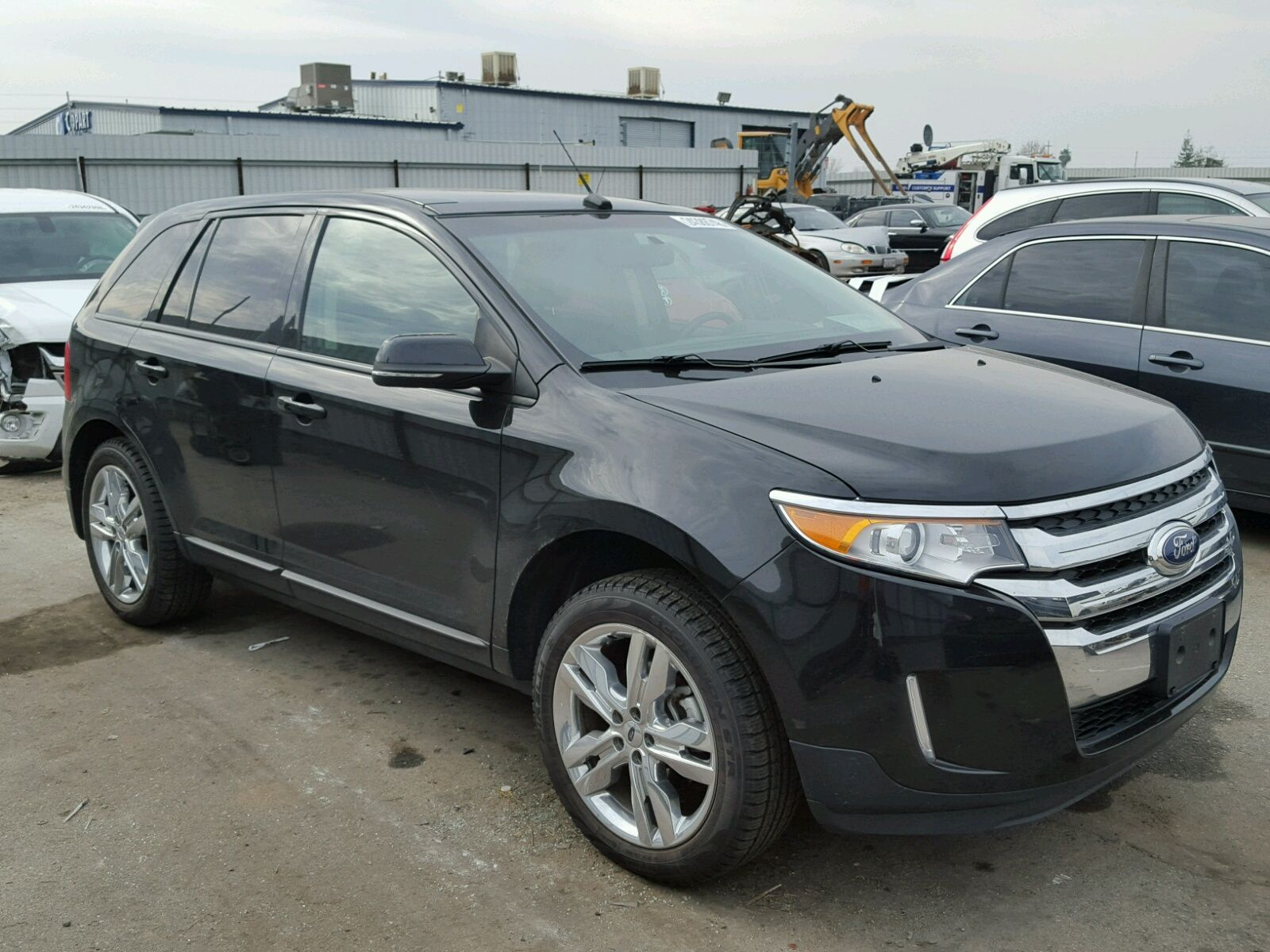 2014 Ford Edge Sel 3 5l For Sale At Copart Auto Auction Place