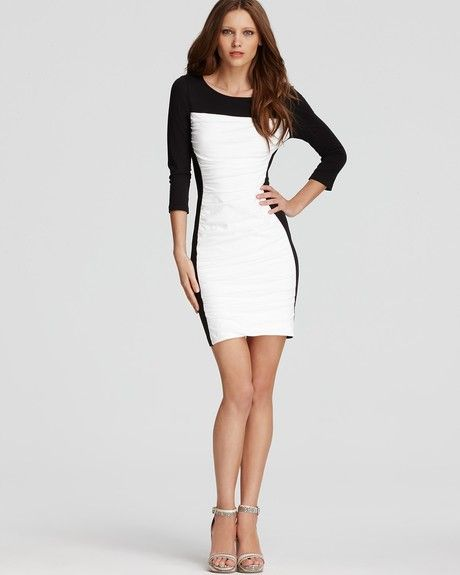 Black and White Dresses