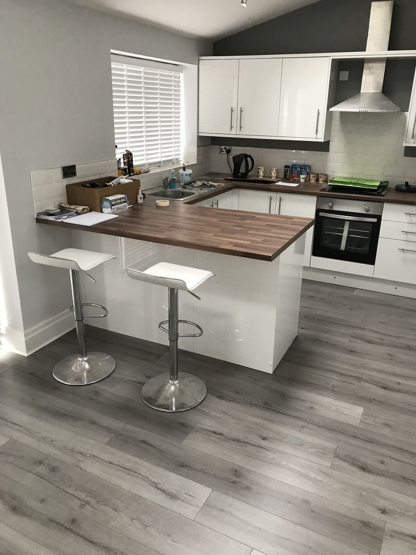 Loft Dark Grey is designed with a highly realistic wood