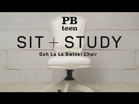 Ooh La La Swivel Chair Swivel Chair Chair Pbteen