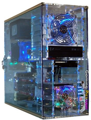 Gaming-Pics com: see-through pc case | Computers and tablets