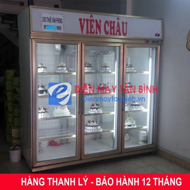 Ban Thanh Ly Tủ Mat Trưng Bay Banh Kem đai Loan Bh 12 Thang