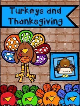 Turkeys and Thanksgiving   October activities, December ...