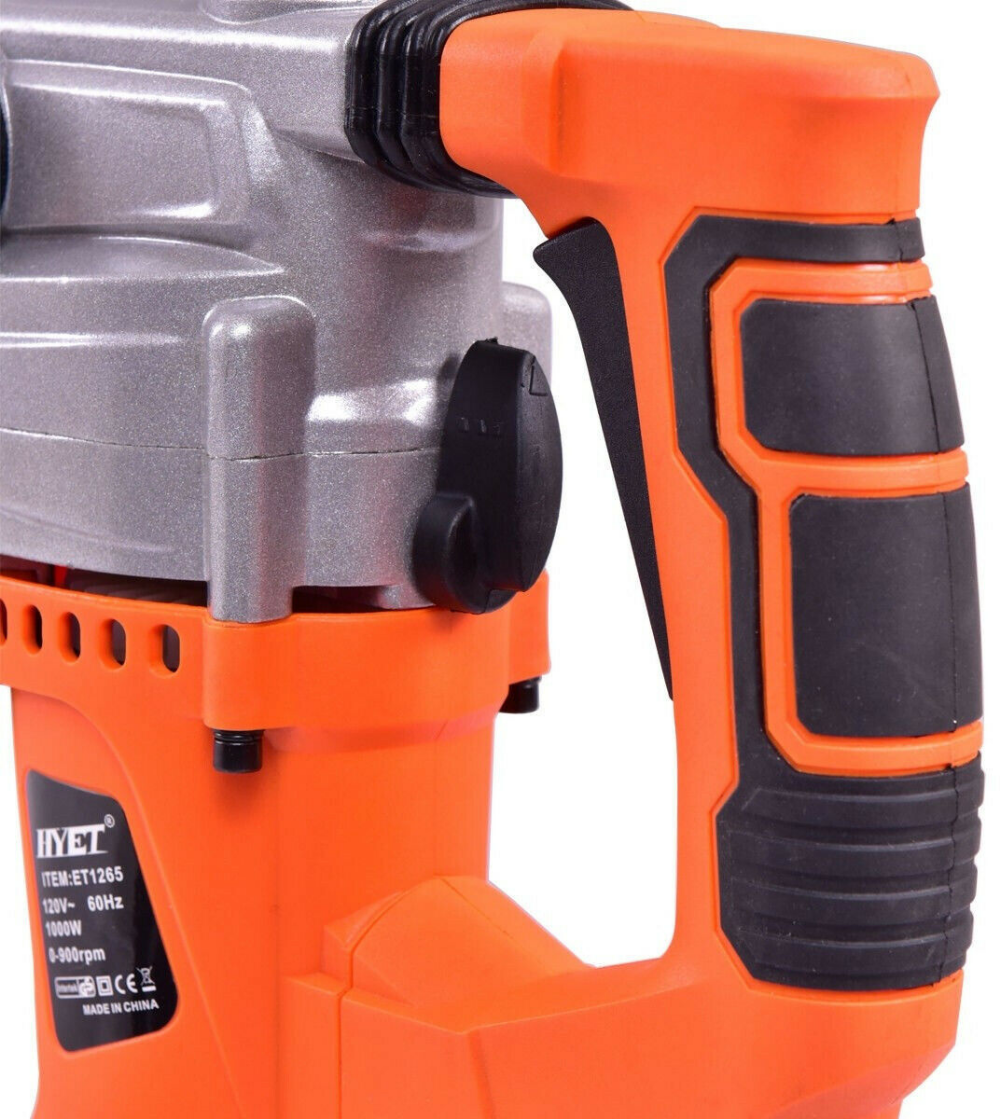 Details about 1000W Electric Rotary Hammer Drill w/ Chisel