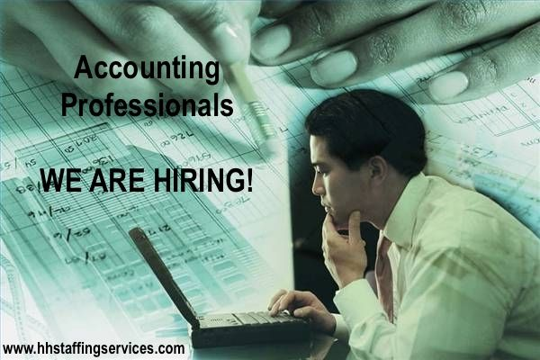 HOT JOB OF THE DAY: Accounting Professionals! Check out ...