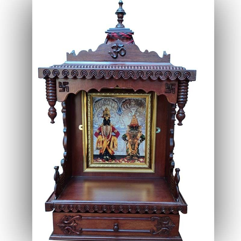 Wooden Pooja Mandir Architectural Woodcarving Product 09