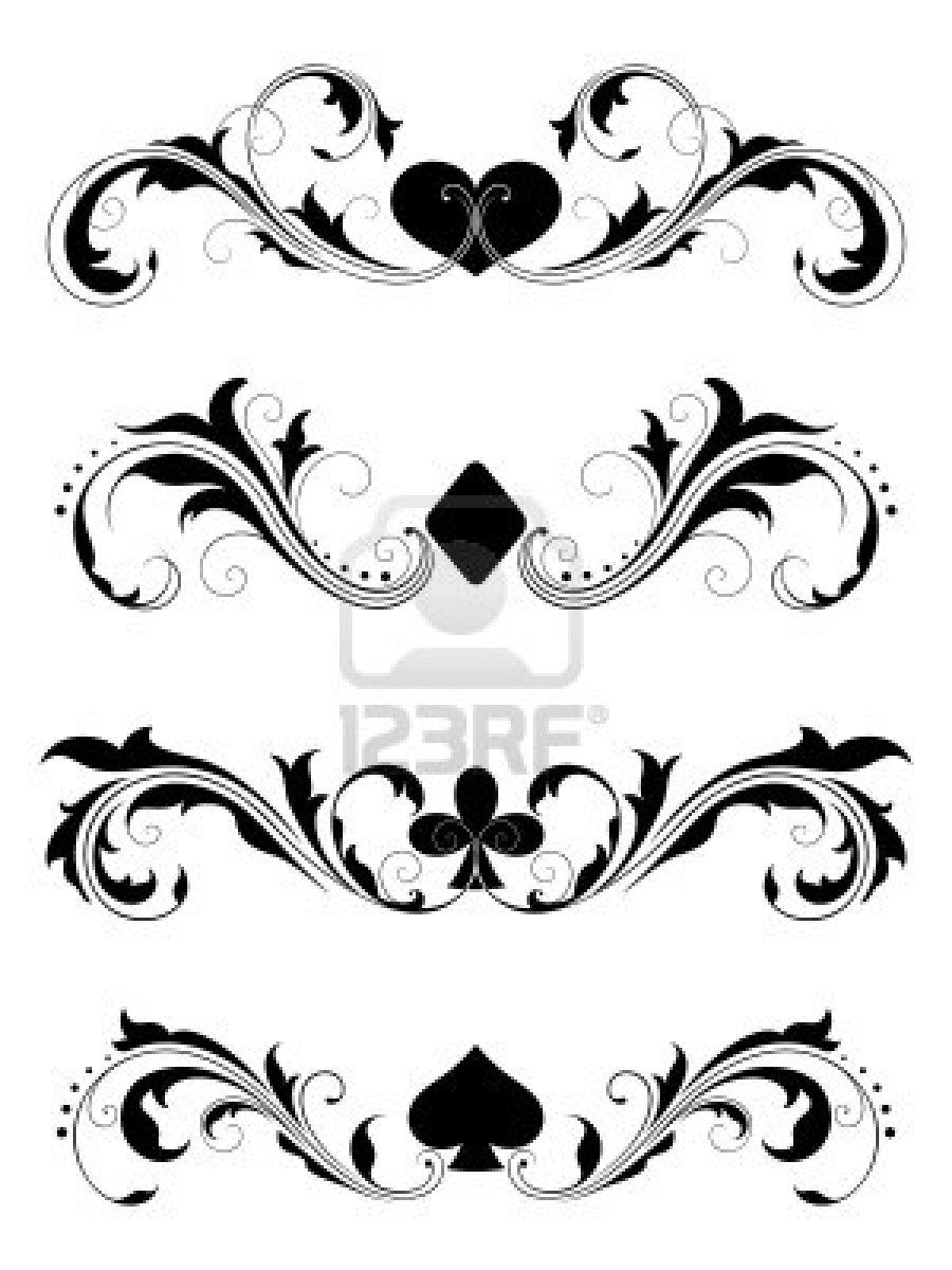 Poker, Poker Suits, Cards, Poker Cards, Tattoo Design