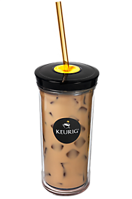 Keurig brew over ice tumbler