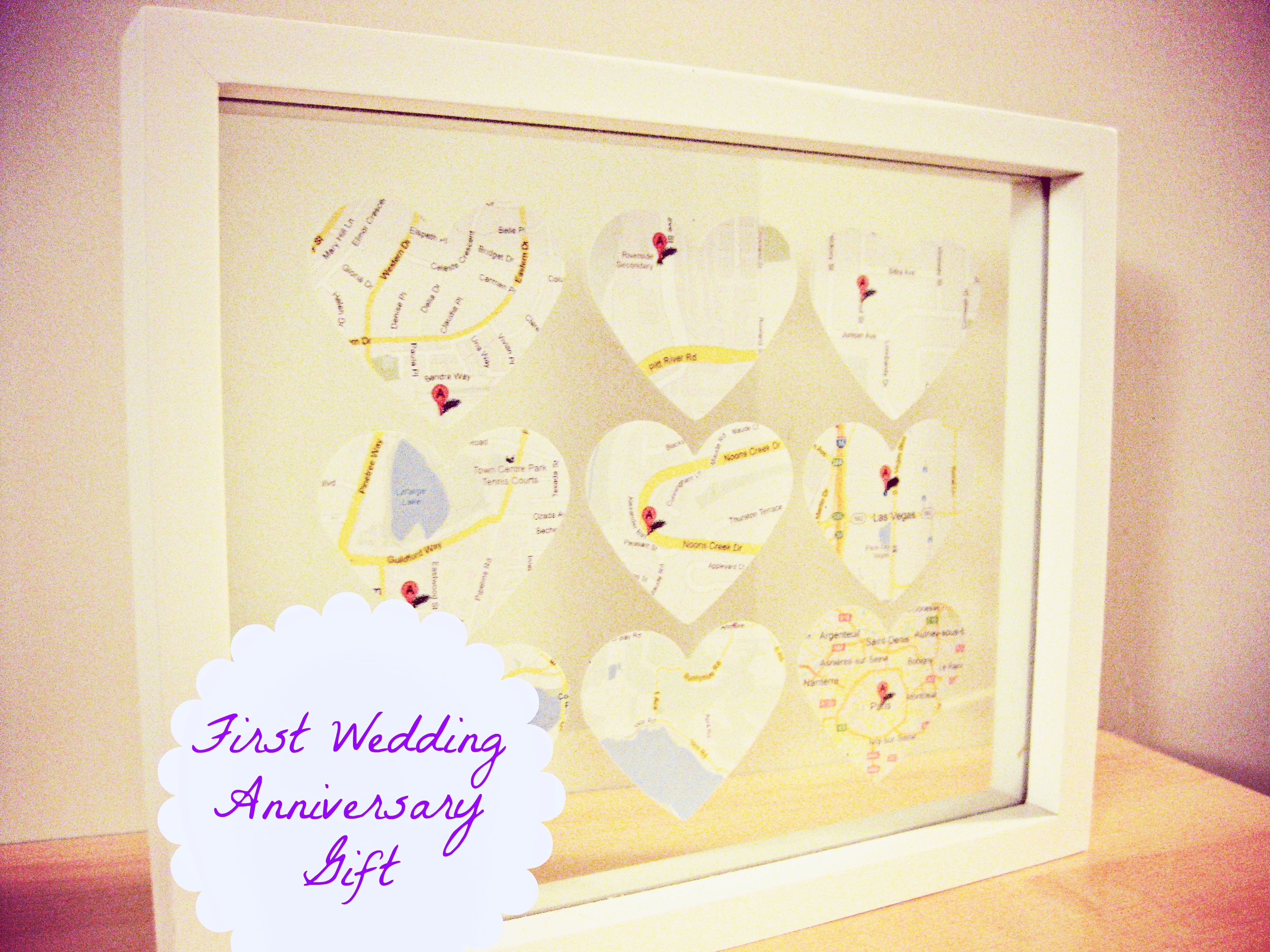 Wedding Anniversary Gifts: Homemade Wedding Anniversary Gifts For ...