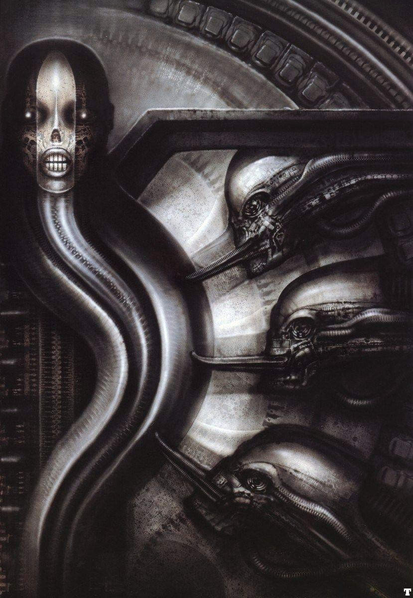 [Oldies] Surreal Art by Alien Creator H. R. Giger