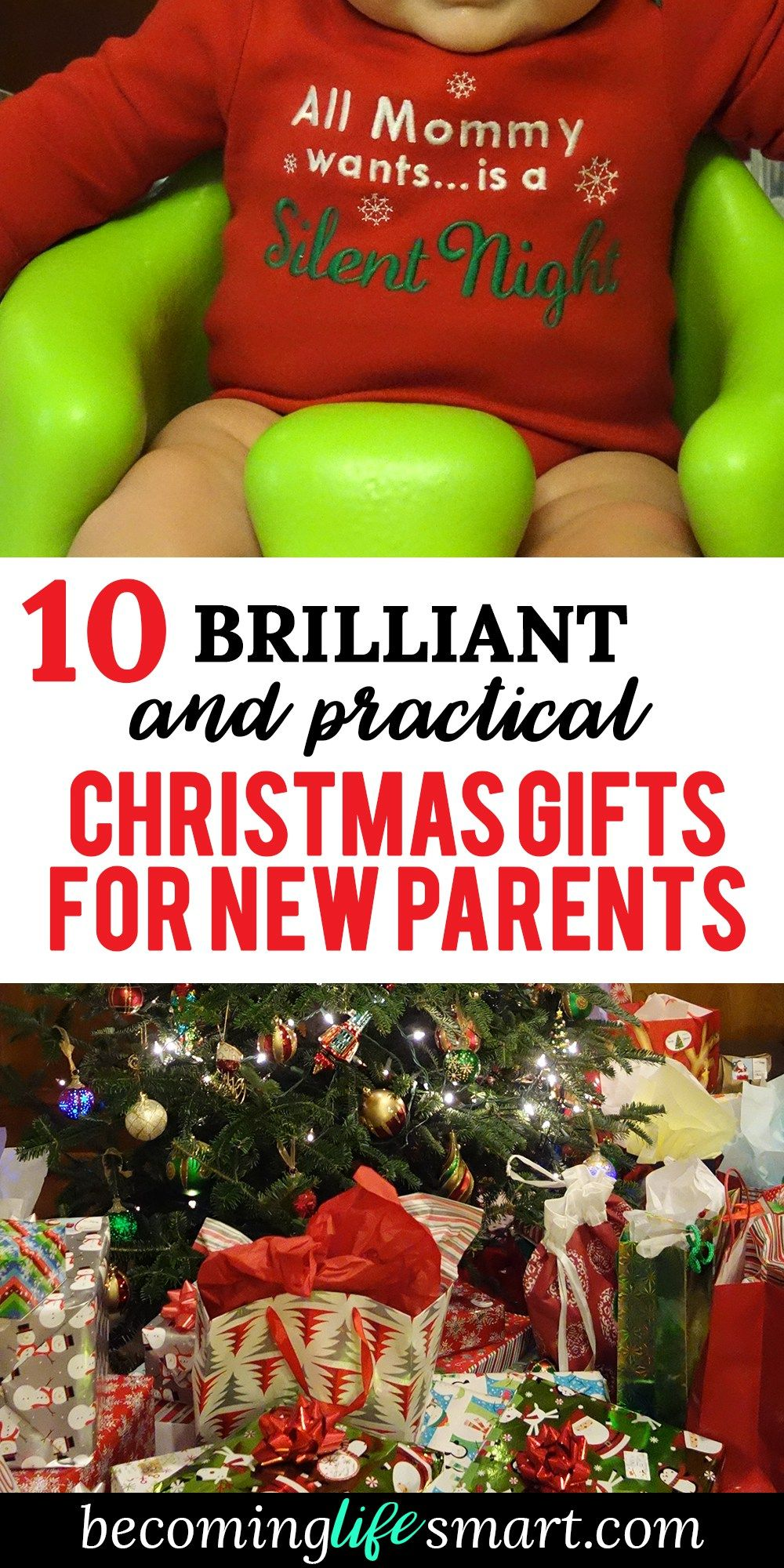 10 Brilliant And Practical Christmas Gifts For New Parents Becoming Life Smart Diy Christmas Gifts For Parents Practical Christmas Gift Christmas Gifts For Parents