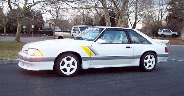1987 Saleen Mustang - 601HP '87 Saleen - 5.0 Mustang & Super Fords ...