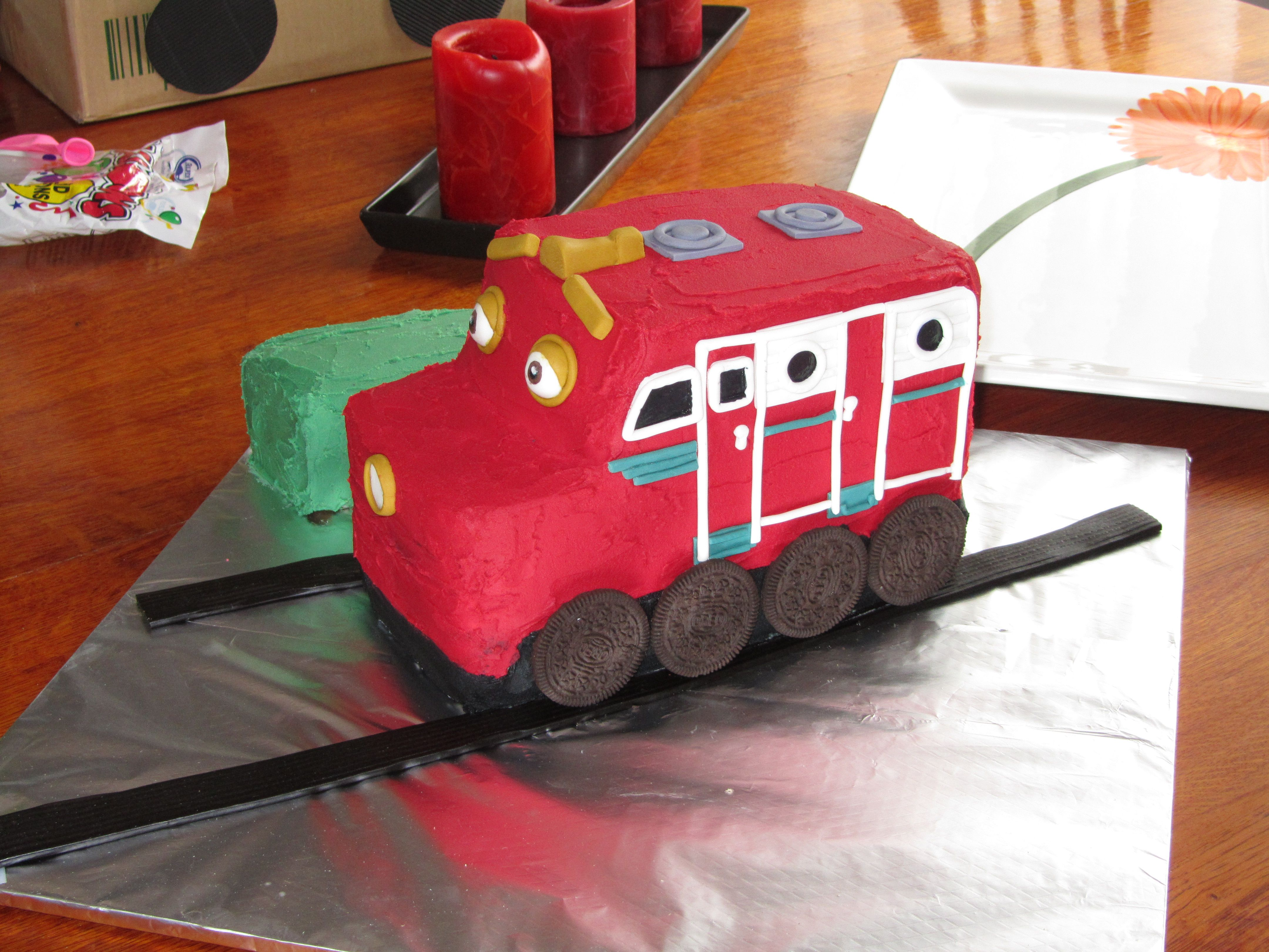 Chuggington - Wilson Cake - I made this cake for my friends Son\'s ...