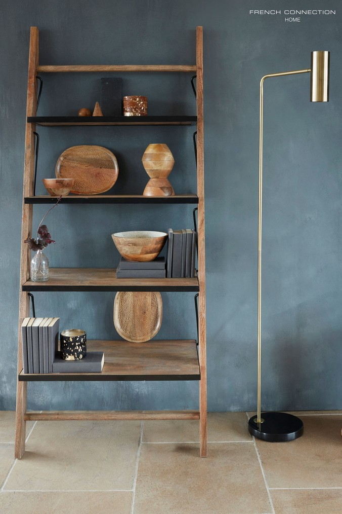 French Connection Ladder Shelf Natural Ladder Shelf Shelves Ladder