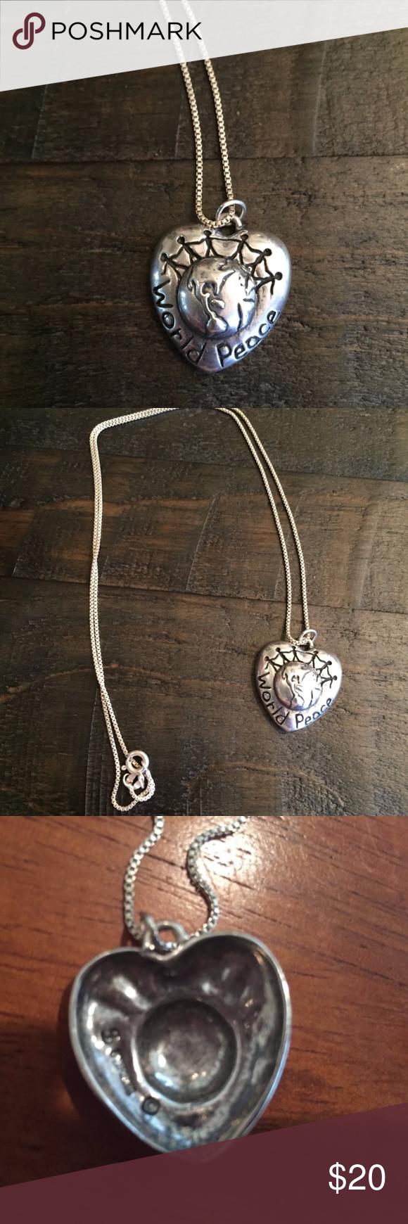 World peace pendant necklace peace silver pendants and pendants world peace pendant necklace this is a very nice world peace silver pendant and necklace aloadofball Choice Image