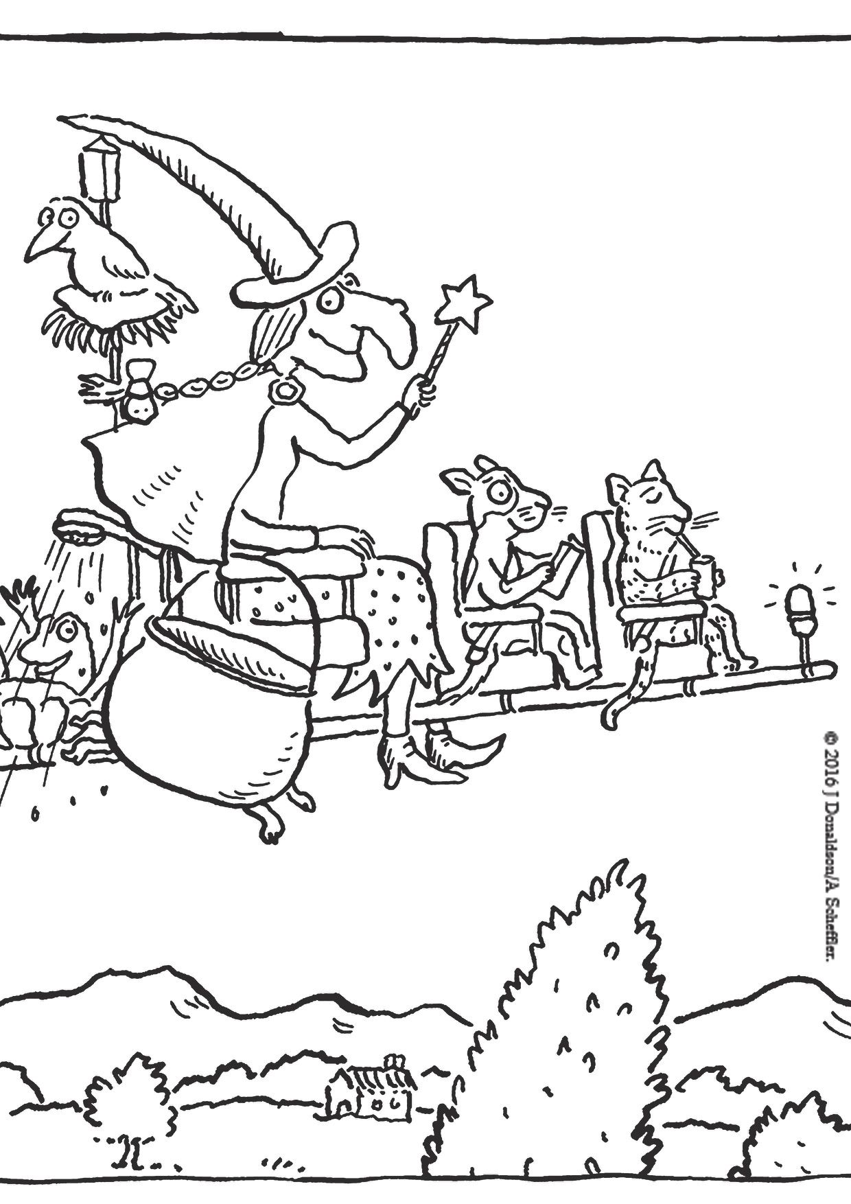 We Ve Created Some Large Room On The Broom Puzzle Pieces For The Little Ones To Colour In And