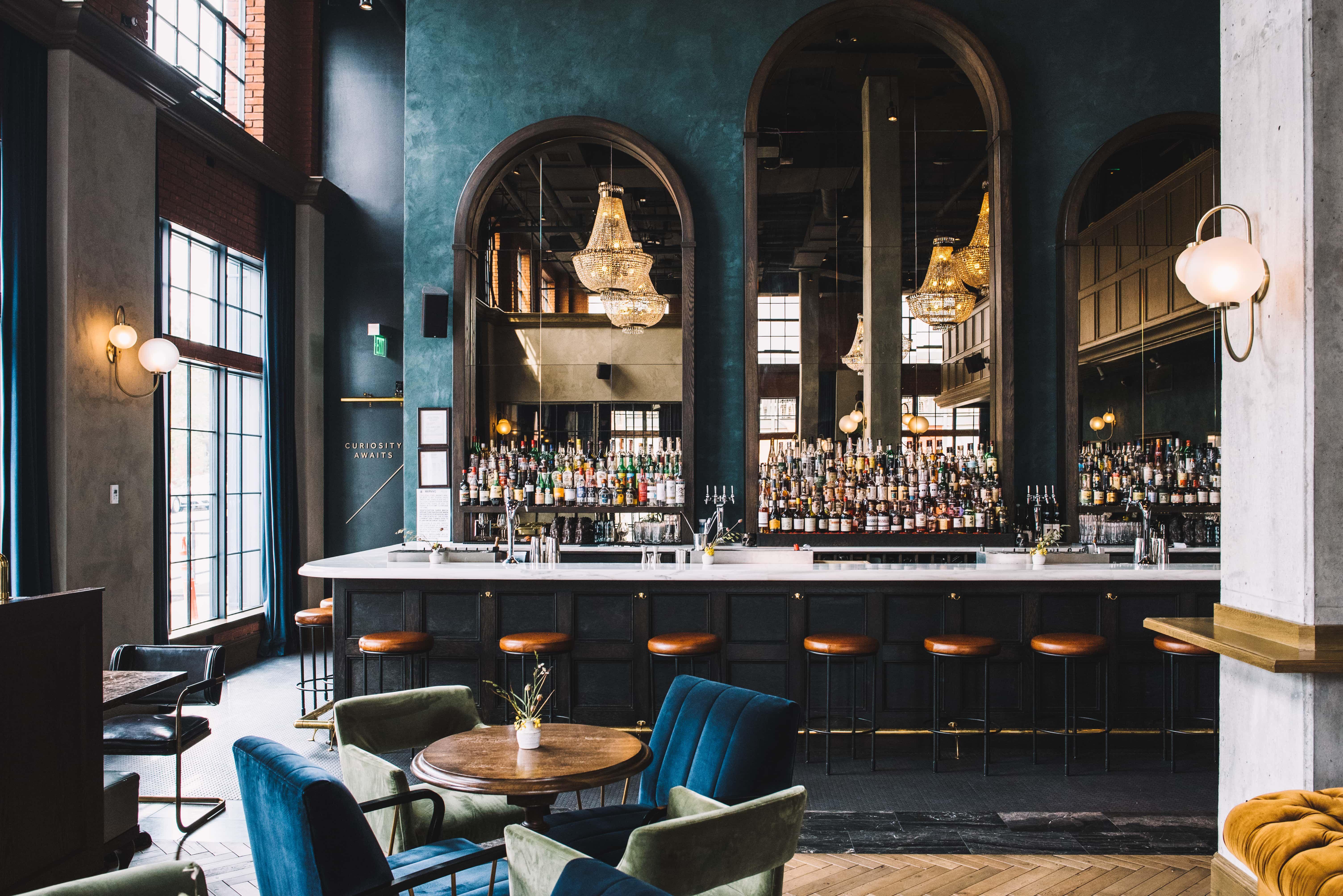 The Ramble Hotel Boutique Hotel In Rino Downtown Denver Bar Design Restaurant Luxury Bar Bar Interior Design