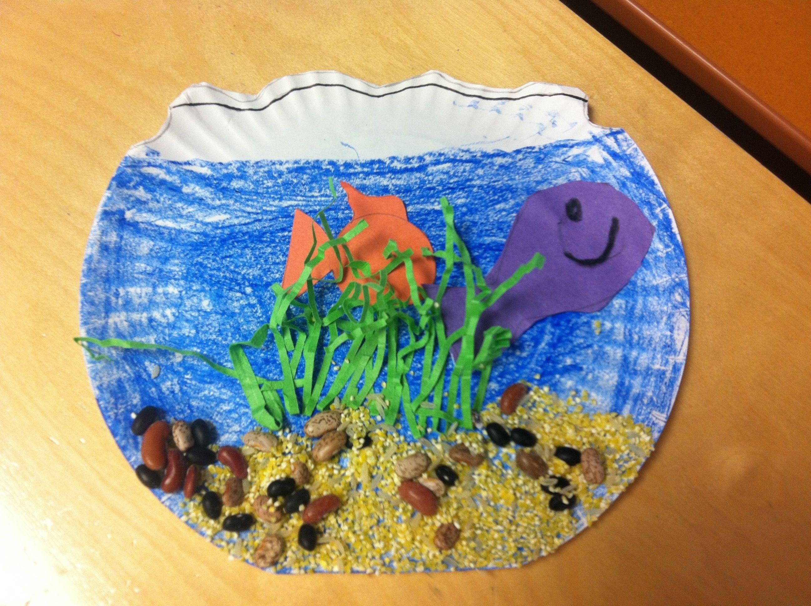 Fish bowl Preschool Or Kindergarten | Preschool arts and ...