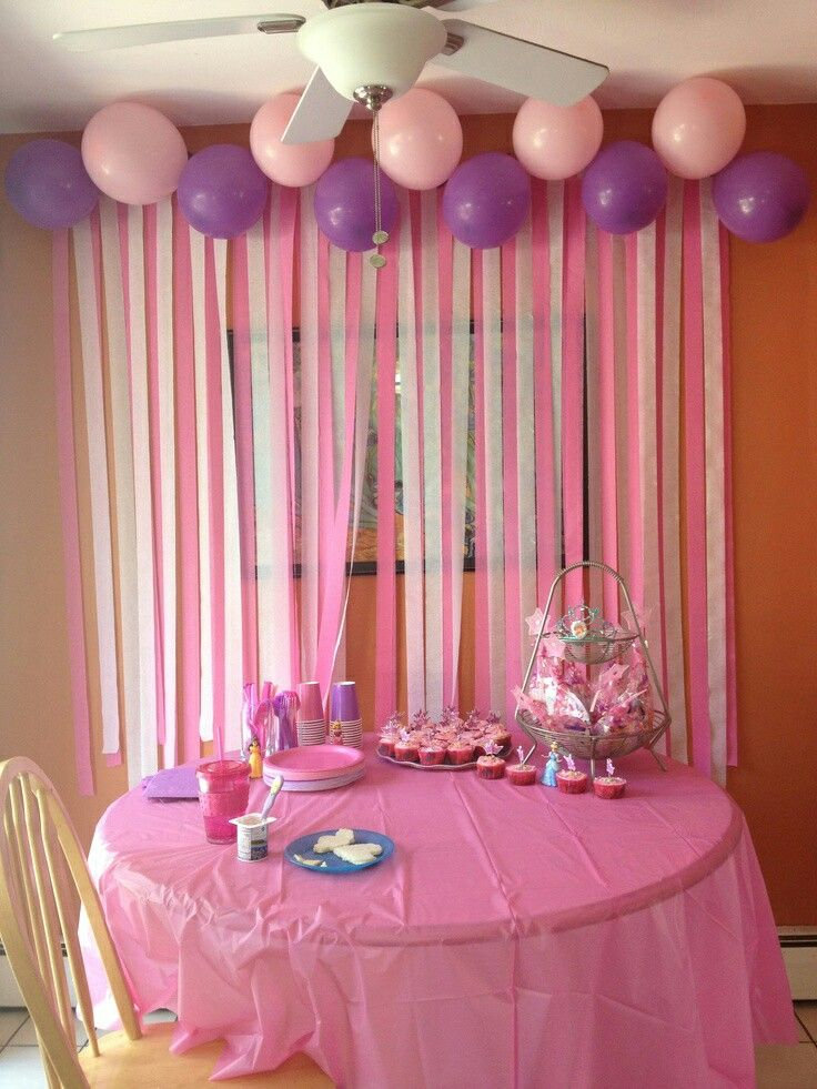 Pin by javearia razzaq on party pinterest birthdays birthday would be cute over the kitchen door but pulled to sides like curtains diy birthday party decorations love the streamers on the wall teraionfo