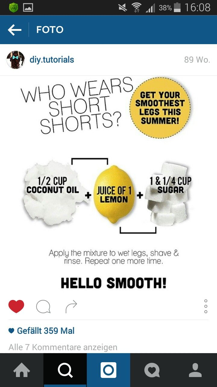 For beautiful sommer legs :)