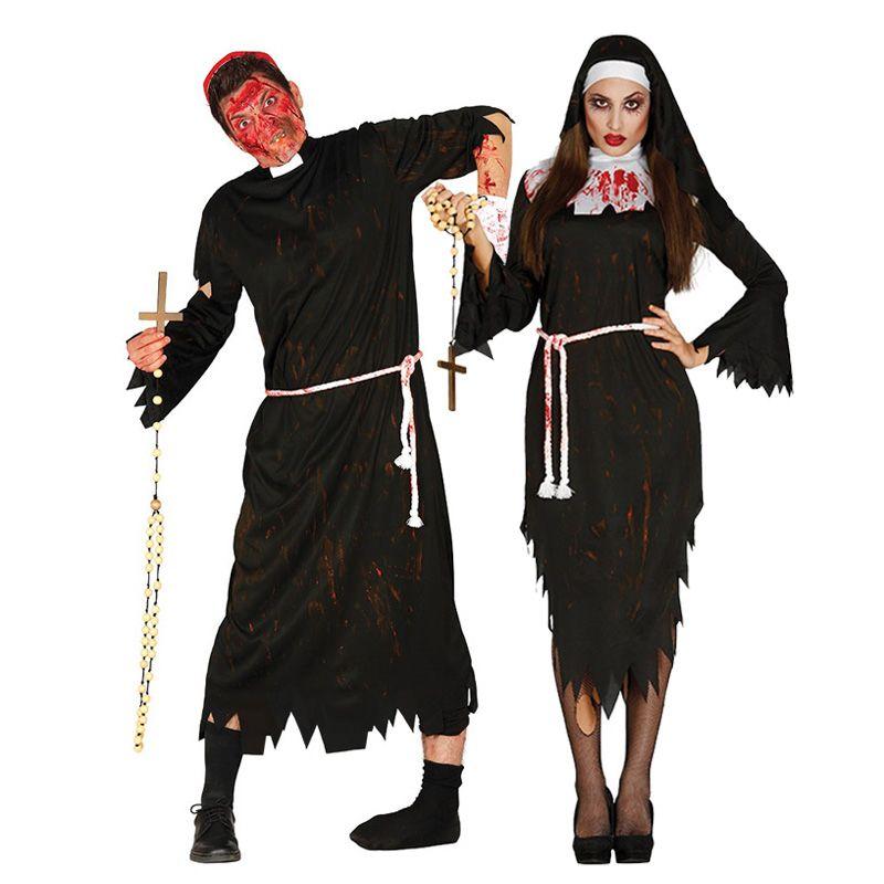 Nuevos Guantes De Esqueleto Largo-Scary Zombie Horror Accesorio De Halloween Vestido de fantasía