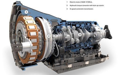 Bmw Zf 8 Sd Automatic Hybrid Transmission Cutaway