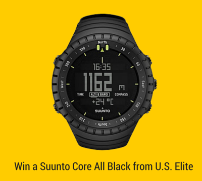 Win a Suunto Core All Black from U.S. Elite