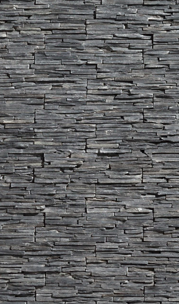 Textura de stonepanel laja jet dark un panel de piedra natural formado por lajas de pizarra - Revestimiento paredes interiores pizarra ...