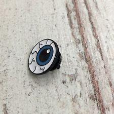 Enamel Eyeball Pin