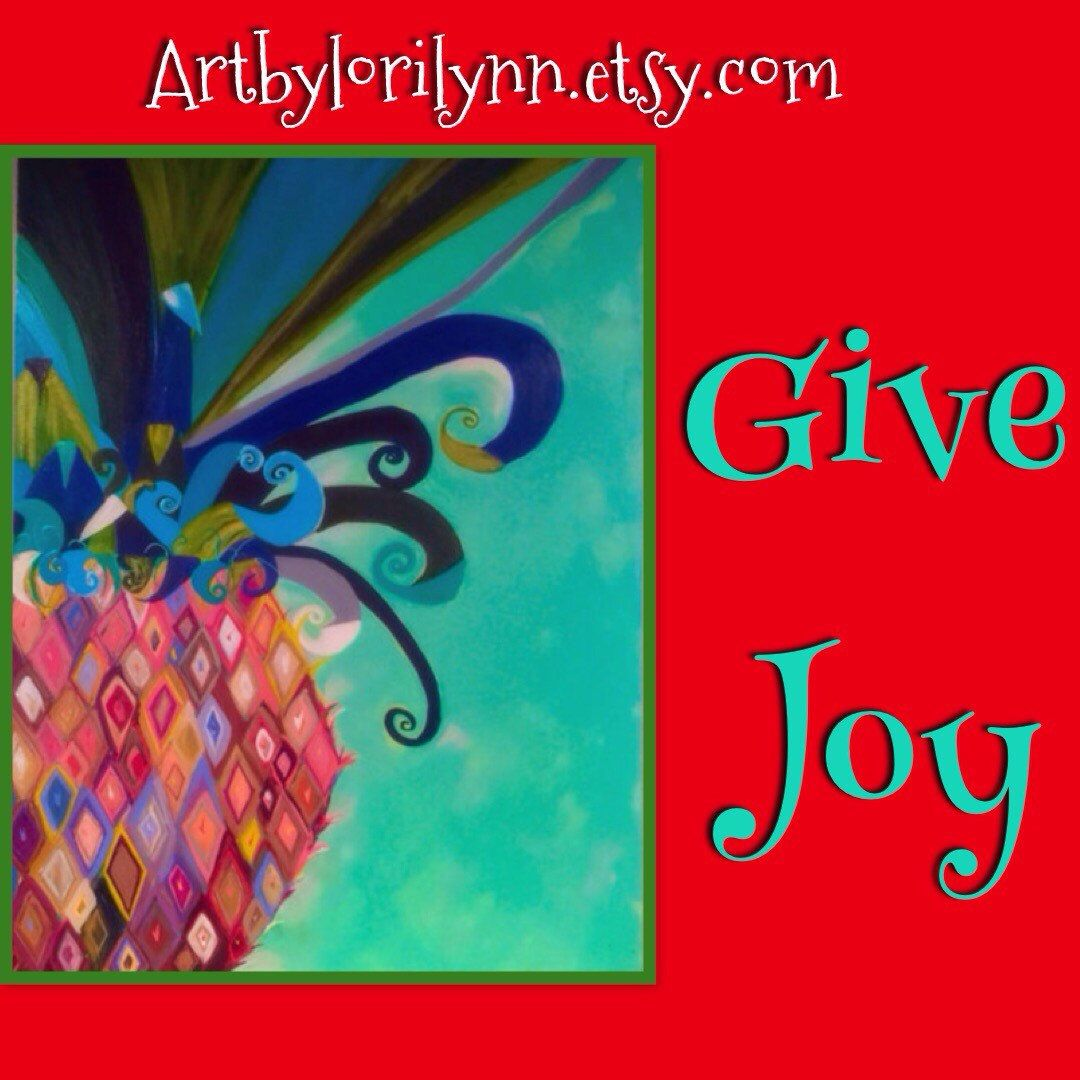Joy abounds in this sweet pineapple original