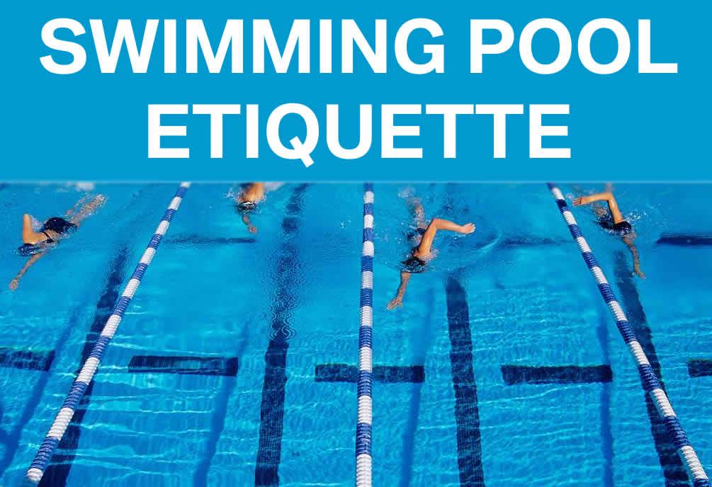 This article is near and dear to my heart after way too many years of masters swim workouts for Swimming etiquette public pool