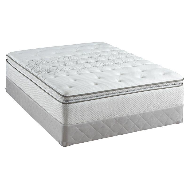 Sealy Posturepedic Watson Court Plush Euro Pillowtop Mattress Queen Pcrichard Com 510593 Q Sealy Posturepedic Posturepedic Mattress