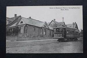 Trolley 1918 Butte MT
