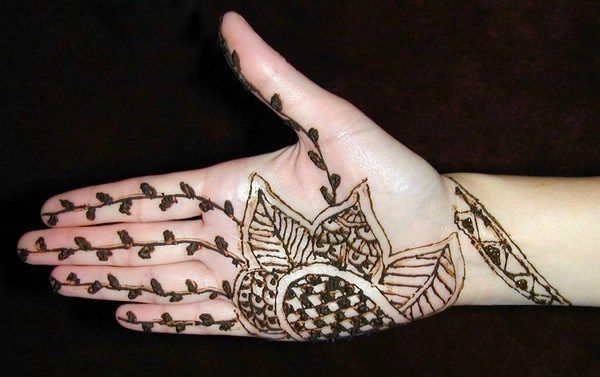 Mehndi For Thin Hands : Simple arabic mehndi designs for hands henna beauty