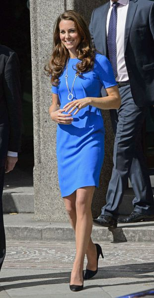 Kate Middleton is Olympics-tastic in Stella McCartney Dress at The National Portrait Gallery